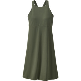 Patagonia Magnolia Spring Dress Women kale green